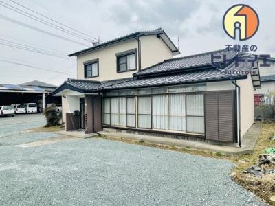 【外観】八女市前古賀 中古住宅(5DK)