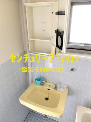 【洗面所】カーサ中村