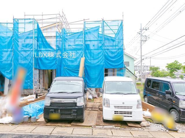上棟   (撮影 21/04/02)