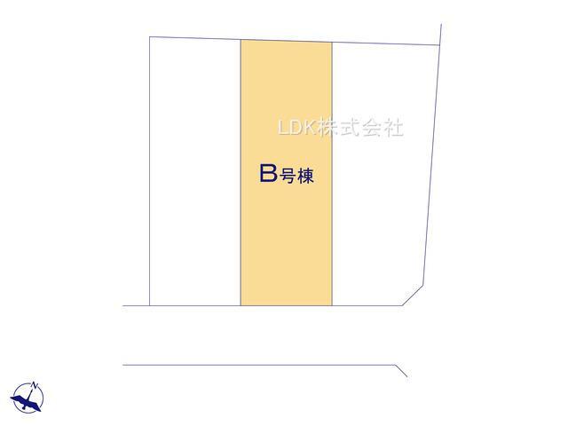 【区画図】新築戸建/ふじみ野市大井2丁目(全3棟)
