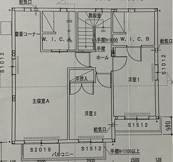 【間取り】香椎台5丁目戸建て