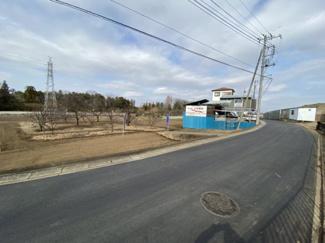 【外観】狭山市柏原 建築条件なし売地 「新狭山駅」バス16分 敷地116坪