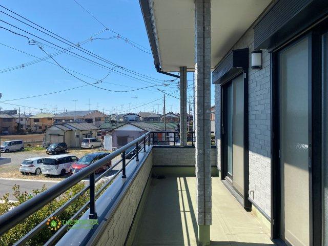 【バルコニー】久喜市栗橋東1丁目 中古一戸建て