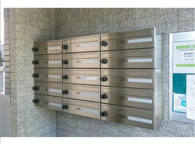 リヴレ駒場 メールボックス