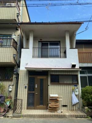 【外観】針中野4貸家