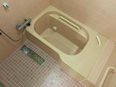 【浴室】針中野4貸家