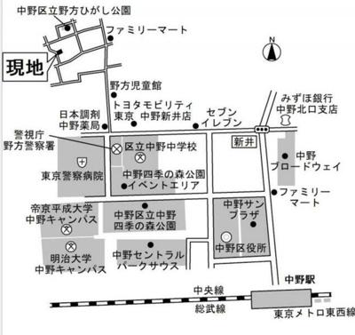 【地図】マメゾンⅡ
