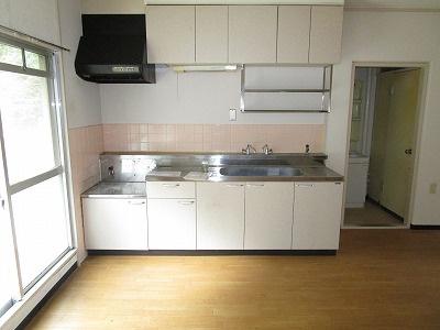 【キッチン】冨善大野ハイツ
