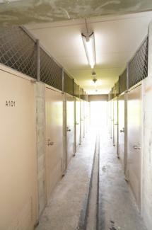 トランクルーム(2021年4月1日14:00頃)撮影