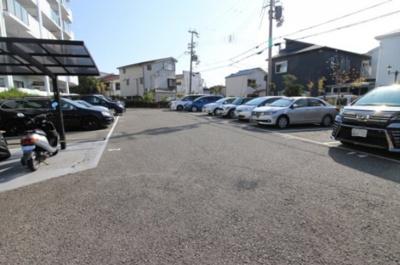 【駐車場】五色山ハイツ