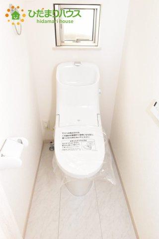 【トイレ】上尾市本町4丁目 新築一戸建て