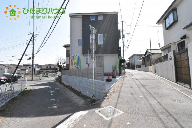 【前面道路含む現地写真】上尾市本町4丁目 新築一戸建て
