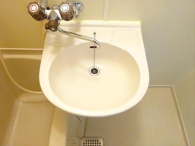 【洗面所】プチハイツ下高井戸