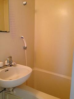 掃除がとてもしやすいバス・トイレ同室タイプ