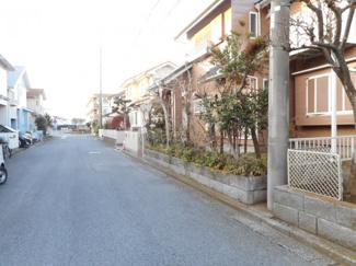 八千代市大和田新田 中古一戸建て 八千代緑が丘駅 南道路、幅6.5mです。