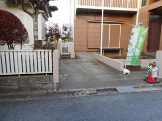 八千代市大和田新田 中古一戸建て 八千代緑が丘駅 1台分の駐車スペースあります。