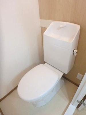 【トイレ】四ツ池スカイハイツ