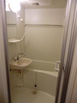 【浴室】レオパレスフォレストⅡ