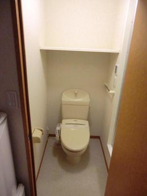 【トイレ】レオパレスフォレストⅡ