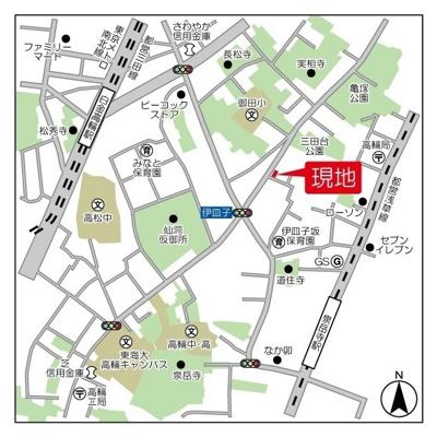【地図】HF高輪レジデンス