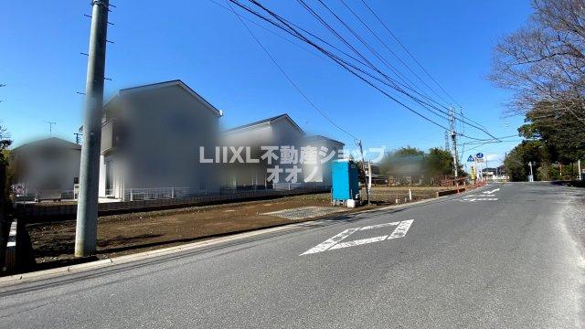 【前面道路含む現地写真】加須市不動岡3丁目 新築戸建 全1棟