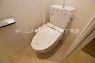 【トイレ】アーバンカーサ蒲生