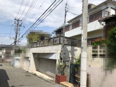 【前面道路含む現地写真】神戸市垂水区歌敷山3丁目 土地