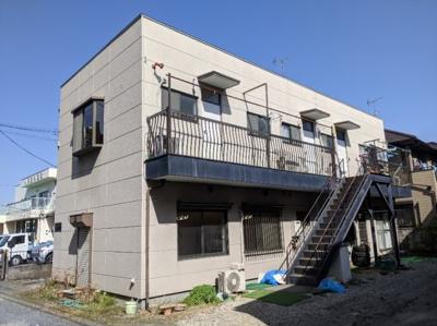 【外観パース】鶴ヶ島駅前コーポ