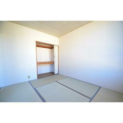 「6帖の和室です」