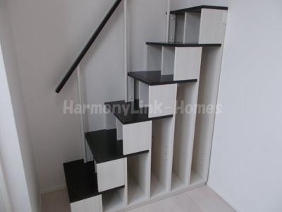 ハーモニーテラス立石の収納付き階段☆