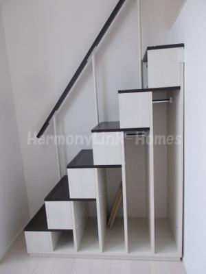 ハーモニーテラス立石の収納付き階段➁☆