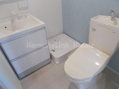 ハーモニーテラス立石の落ち着いたトイレです☆