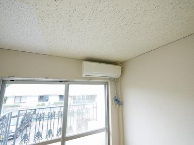 エアコンが付いてます。