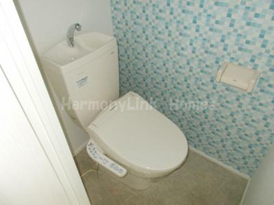 ハーモニーテラス長崎Ⅱの落ち着いたトイレです