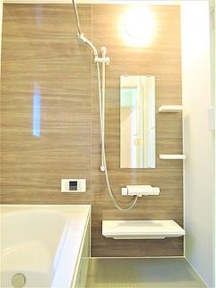 おしゃれな浴室になります