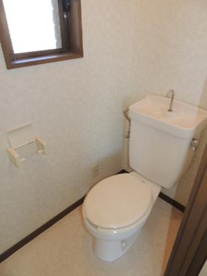 トイレに窓有ます!