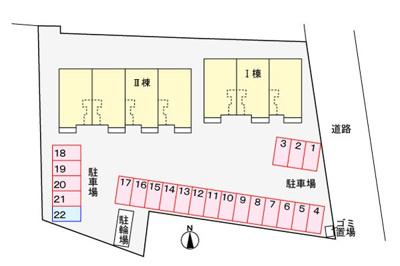 【区画図】ストラッセⅡ