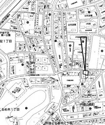 【区画図】東区戸坂山崎町