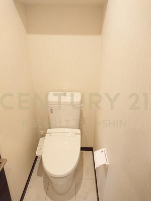 【トイレ】茨木市小川町 新築戸建