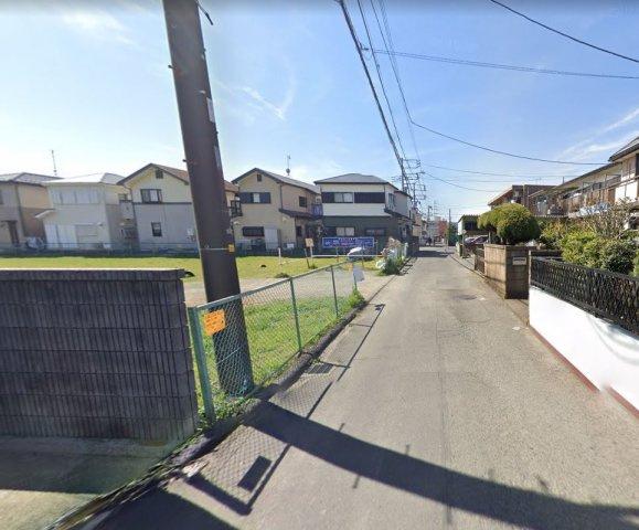 【前面道路含む現地写真】新築 平塚市横内 4号棟