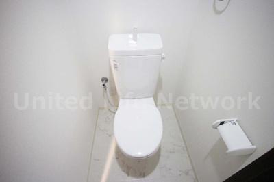 清潔感タップリなトイレ