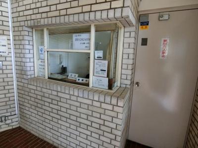【受付】桜上水マンション