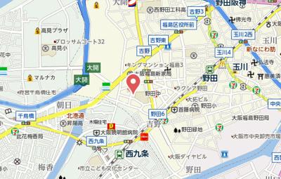 【地図】サンライト吉野Ⅱ