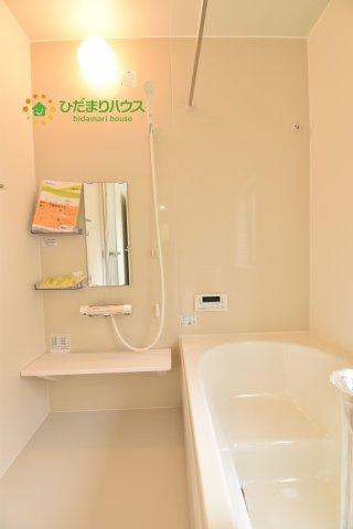 清潔感のある広々浴室はゆったり浸かれて日頃の忙しさから解放してくれます(^^♪