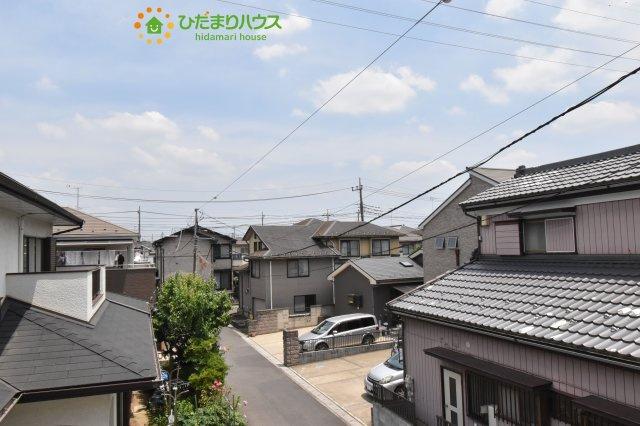 【バルコニー】上尾市泉台 4期 新築一戸建て 01