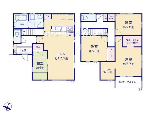 上尾市泉台 4期 新築一戸建て 01