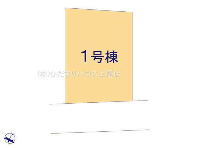 【区画図】上尾市泉台 4期 新築一戸建て 01