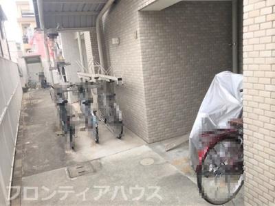 【駐輪場】ドルフ六甲道ヴェルデグラツィオ