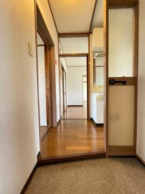 【玄関】明舞第16団地64号棟
