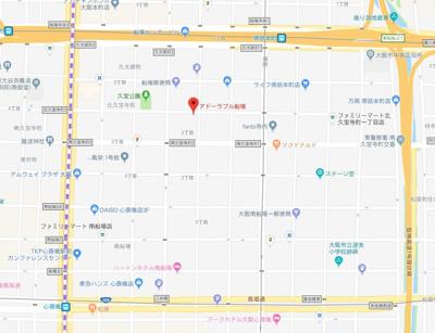 【地図】アドーラブル船場